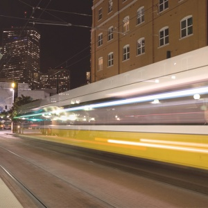 Dart Train Takeoff