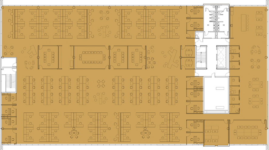 Full Floorplan Test Fit